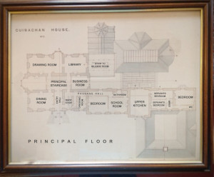 Guisachan Estate: Principal Floor Plan