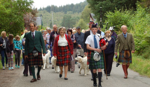 Piper and Tartans