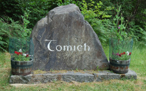 The Tomich Village Entrance